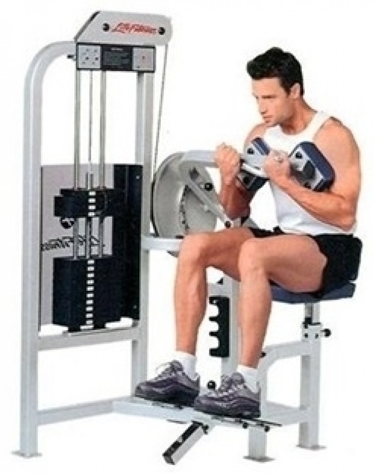Picture of Life Fitness Pro Ab Crunch-CS