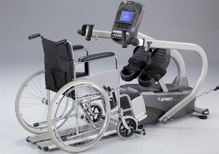 Picture of MS350 Full Body Stepper Wheelchair Access