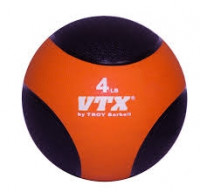 Troy 10 lb Medicine Ball - Orange