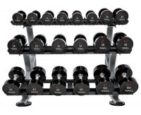 3-TIER HORIZONTAL DUMBBELL  SADDLE RACK - CS