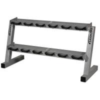 Legend Fitness 2 Tier Dumbbell Rack-CS