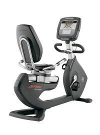 Life Fitness 95R Inspire Lifecycle Recumbent Exercise Bike- CS