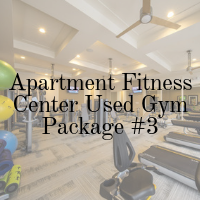 Apartment Fitness Center Used Gym Package - 3