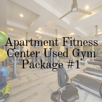 Apartment Fitness Center Used Gym Package - 1