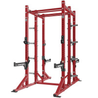 Hammer Strength Double Sided Squat Rack with bench - CS