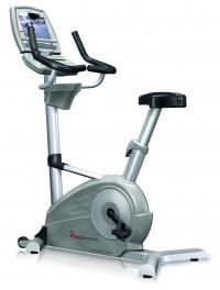 FreeMotion Upright Bike w/ Workout TV Console-CS
