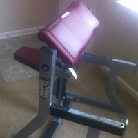 Hammer Strength Preacher Curl Bench- CS
