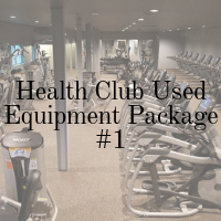Health Club Used Equipment Package -1
