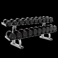 Life fitness 2 Tier Dumbbell Rack - CS