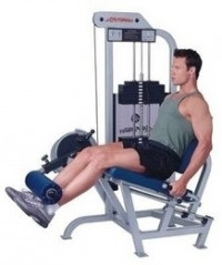 Life Fitness Pro  Leg Extension-CS