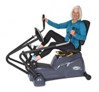 HCI Fitness PhysioStep LXT Recumbent Elliptical