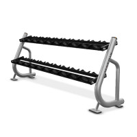 Magnum Badger 2 Tier Dumbbell Rack with Saddles-CS