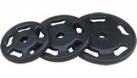 Rubber Olympic Plates 45 lbs - CS
