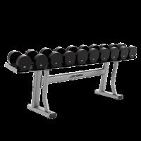 Life Fitness Single Tier Dumbbell Rack-CS