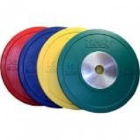 Troy 10 kg (green competition bumper plate)........